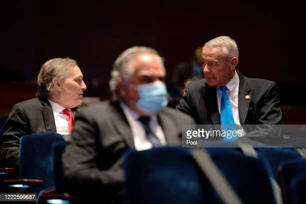 S Reps Andy Biggs and Ken Buck talk at a hearing of the House Judiciary Committee on June 24 2020 in Washington DC Democrats are highlighting what...