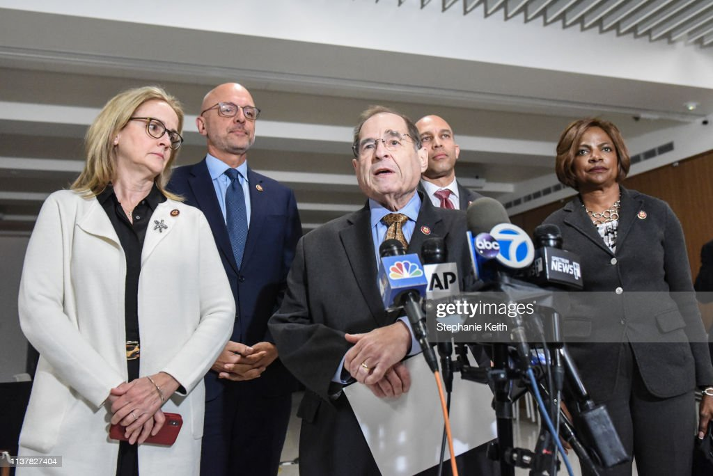 NY: Rep. Jerry Nadler And Fellow Democrats Hold Press Conference On Eve Of Mueller Report Release