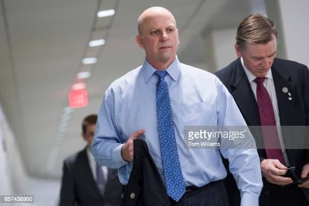 Reps Scott DesJarlais RTenn and Paul Gosar RAriz make their way to a meeting of the House Republican Conference where Speaker Paul Ryan RWis...