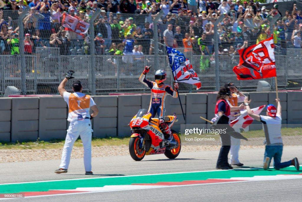 AUTO: APR 22 MotoGP - Grand Prix of the Americas : News Photo