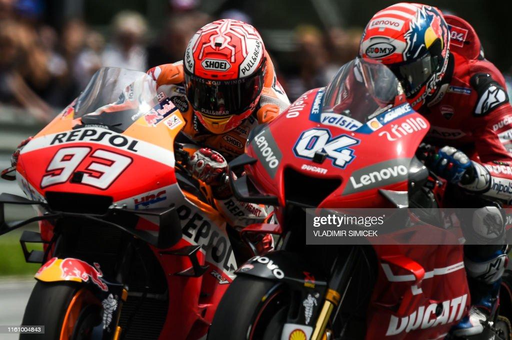 MOTO-PRIX-AUT-MOTOGP-RACE : News Photo