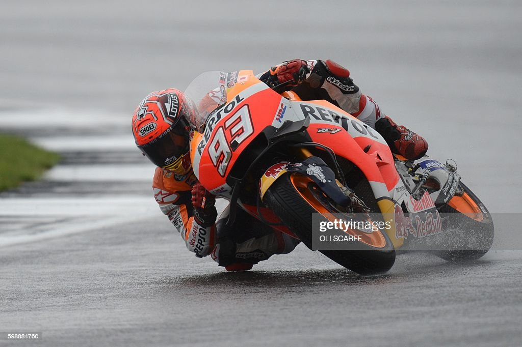 MOTO-PRIX-GBR-MOTOGP-QUALIFYING : News Photo