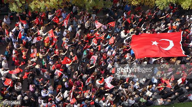 republic day in eskisehir turkey - republic day stock pictures, royalty-free photos & images