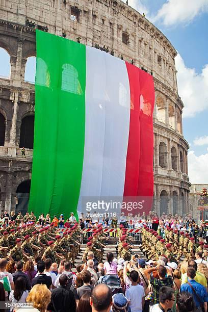 Giorno di repubblica di Roma.