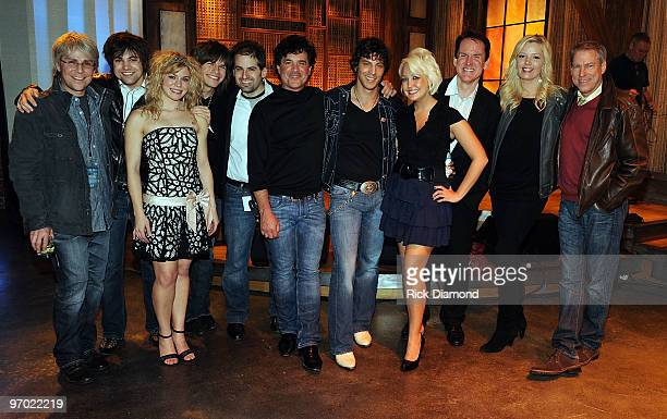 COVERAGE*** Republic Nashville's Jimmy Harnen country group Band Perry members Neil Perry Kimberly Perry and Reid Perry CMT's Jay Frank CEO/President...