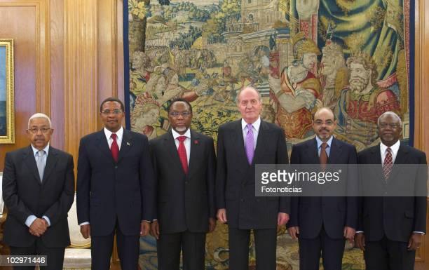 Republic of Cape Verde President Pedro de Verona Rodrigues Pires President of the United Republic of Tanzania Jakaya Mrisho Kikwete VicePresident of...