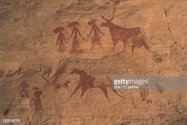Republic of Chad Ennedi Plateau Rock paintings