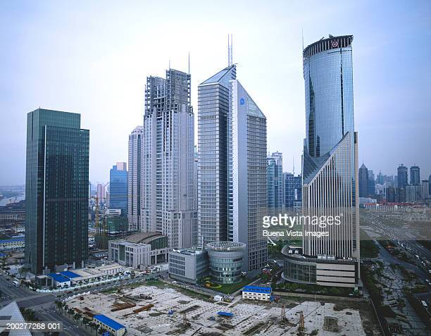 Republic of China, Shanghai, Pudong District skyline