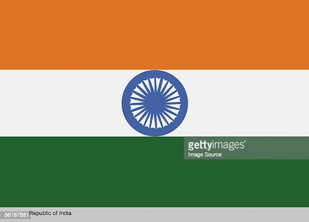 republic of india - indian flag stock pictures, royalty-free photos & images