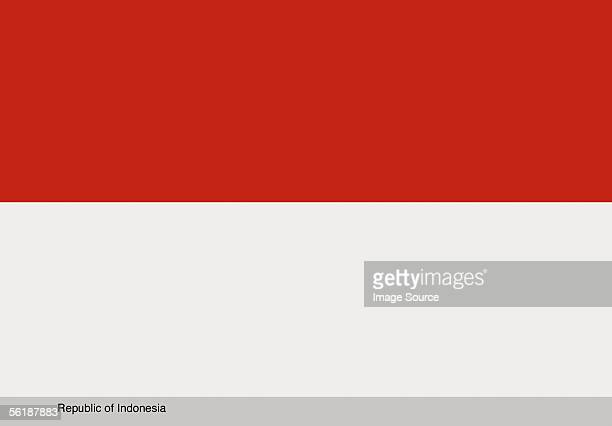 republic of indonesia - indonesia flag stock photos and pictures