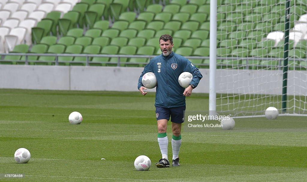 Ireland Training Session : News Photo