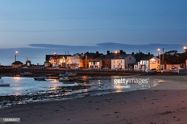 Republic of Ireland, County Fingal, Skerries, View of townside beach