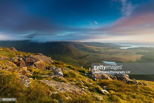 Republic of Ireland, County Kerry, Conor Pass.