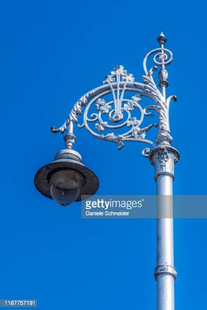 republic of ireland, dublin, lamppost near saint patrick's cathedral - dublin republic of ireland stock pictures, royalty-free photos & images