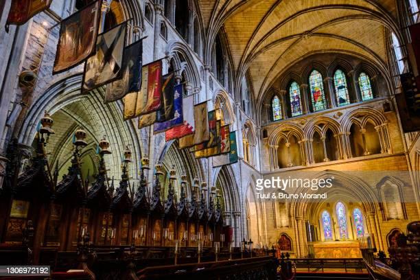 republic of ireland; dublin, st patrick's cathedral - dublin republic of ireland stock pictures, royalty-free photos & images