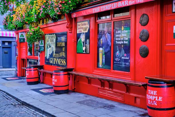 Republic of Ireland; Dublin, the touristic Temple Bar area