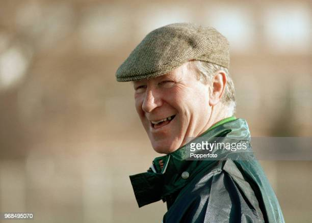 Republic of Ireland manager Jack Charlton circa 1994