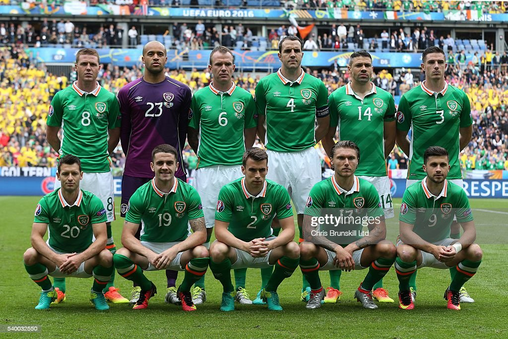 Republic of Ireland v Sweden - Group E: UEFA Euro 2016 : News Photo