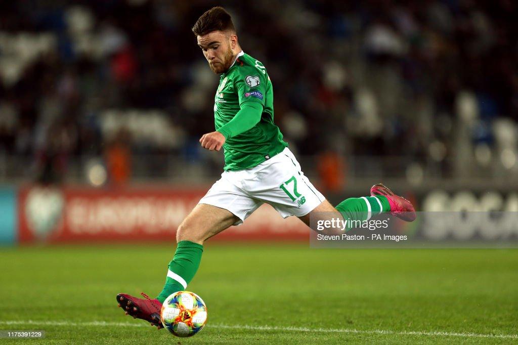 Georgia v Republic of Ireland - UEFA Euro 2020 Qualifying - Group D - Boris Paichadze Stadium : News Photo