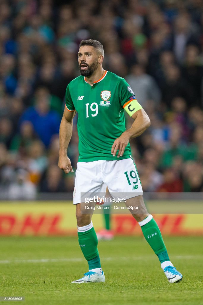 Republic of Ireland's Jonathan Walters during the FIFA 2018 World Cup Qualifier between Republic of Ireland and Serbia at Aviva Stadium on September 5, 2017 in Dublin, .
