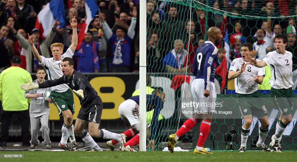 Soccer - FIFA World Cup 2010 - Play Offs - Second Leg - France v Republic of Ireland - Stade de France : News Photo
