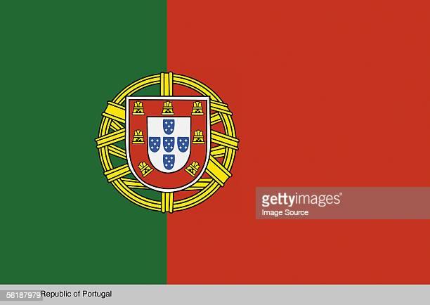republic of portugal - bandeira de portugal imagens e fotografias de stock