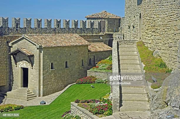 Republic of San Marino San Marino City La Rocca O Guaita or First Tower