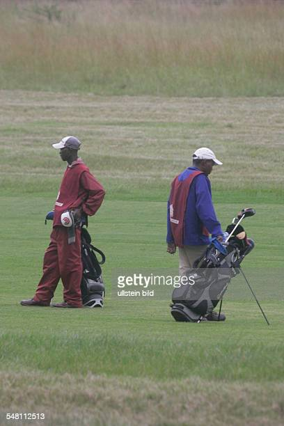 Republic of South Africa Mpumalanga Transvaal Nelspruit White River Country Golfclub black Caddies