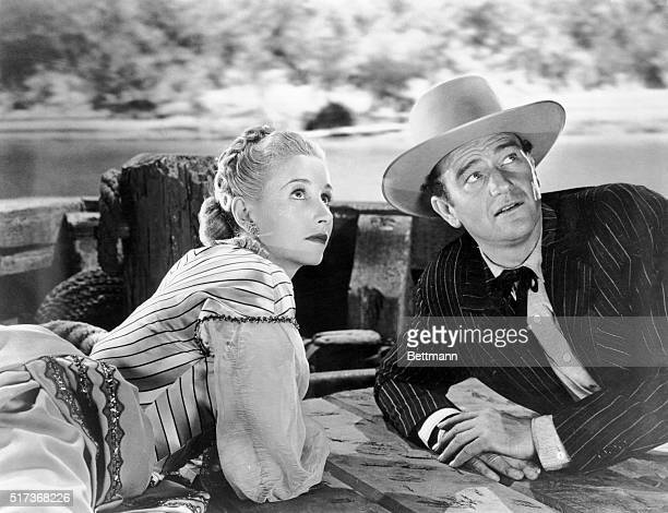 Republic Pictures presents John Wayne in Dakota with Vera Ralston and Walter Brennan 1945