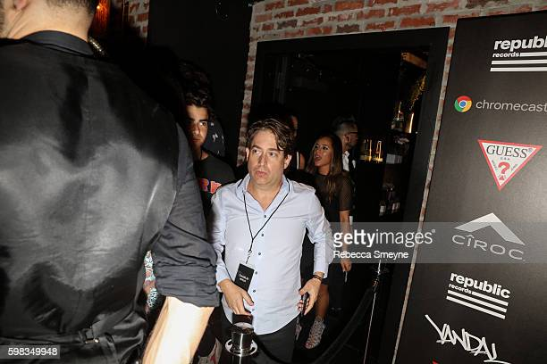 Republic president Charlie Walk at the Republic Records 2016 VMA afterparty at Vandal in New York NY on August 28 2016