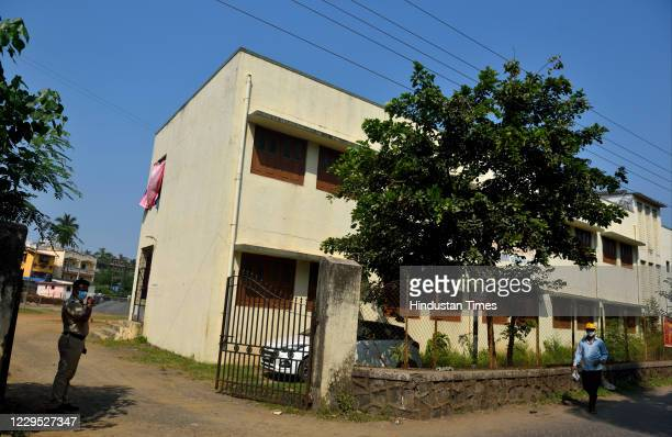 Republic TV EditorinChief Arnab Goswami spent the night at a local school which has been designated as a Covid19 centre for the Alibag prison in...