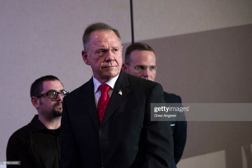 Embattled GOP Senate Candidate In Alabama Judge Roy Moore Continues Campaigning Throughout State