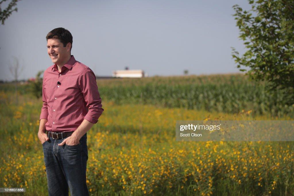 Wisconsin GOP Senate Candidate Bryan Steil Votes In Primary Election