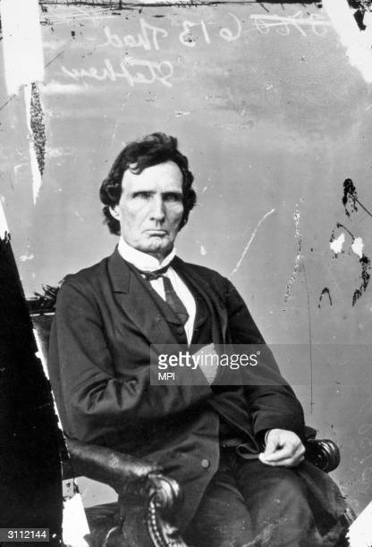 Republican Congressman Thaddeus Stevens of Pennsylvania who was one of a group known as the 'Radicals' who supported the abolition of slavery and...
