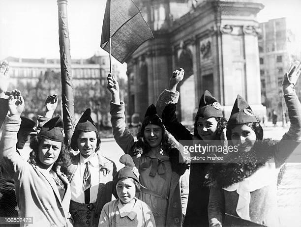 Republican Demonstration In Madrid 1931