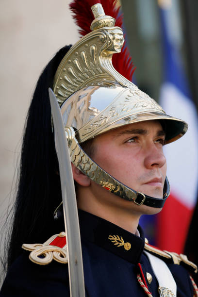 FRA: Macron Hosts Andorran Leaders At Elysee Palace