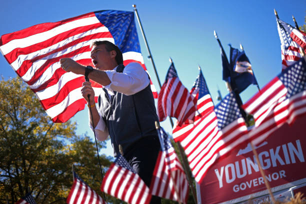 VA: Candidate Glenn Youngkin Holds Early Vote Rally In Virginia