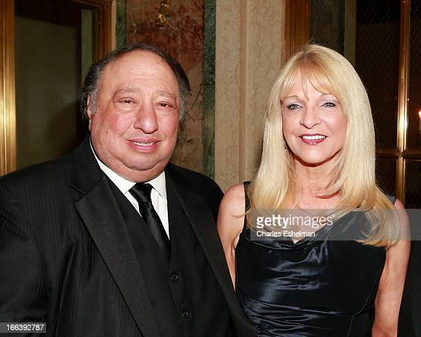 Republican mayoral candidate John Catsimatidis and wife Margo Vondersaar attend attends the 16th Annual ASPCA Bergh Ball at The Plaza Hotel on April...