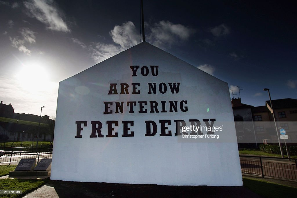 Northern Ireland In The Shadow Of The Peace Process : News Photo