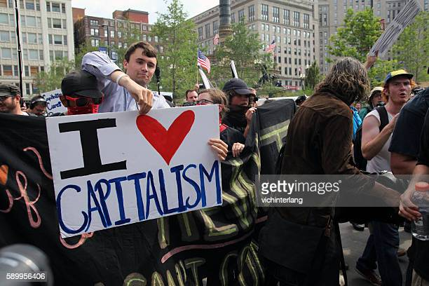 republican national convention, july 21, 2016 - capitalism stock pictures, royalty-free photos & images