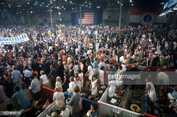 Republican National Convention on August 10 1968 in New York New York
