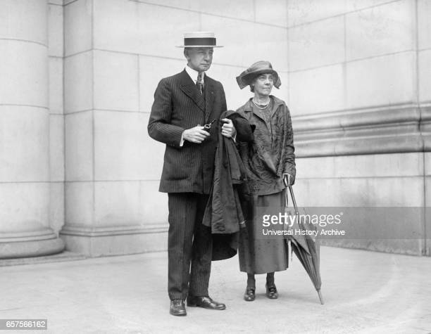 Republican Nominee for US Vice President Charles Dawes and Wife Caro Dawes Washington DC USA National Photo Company July 1924