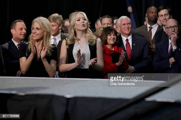 Republican Party Chairman Reince Priebus Republican presidential nominee Donald Trump's campaign manager Kellyanne Conway Trump's daughter Tiffany...