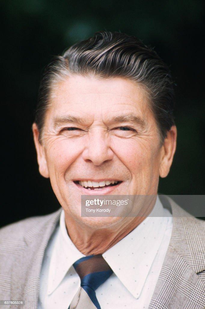 Republican Politician Ronald Reagan