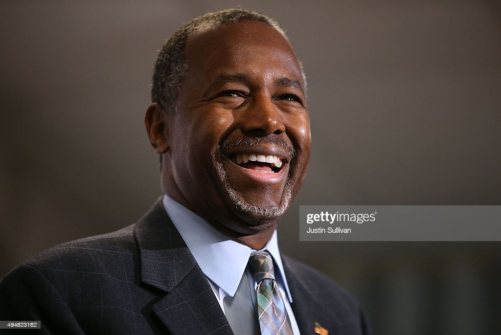 GOP Presidential Candidate Ben Carson Campaigns In Colorado Day After Party's Third Debate