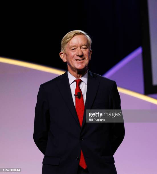 Republican presidential candidate Bill Weld a former Governor of Massachusetts participates in a Presidential Candidates Forum at the NAACP 110th...