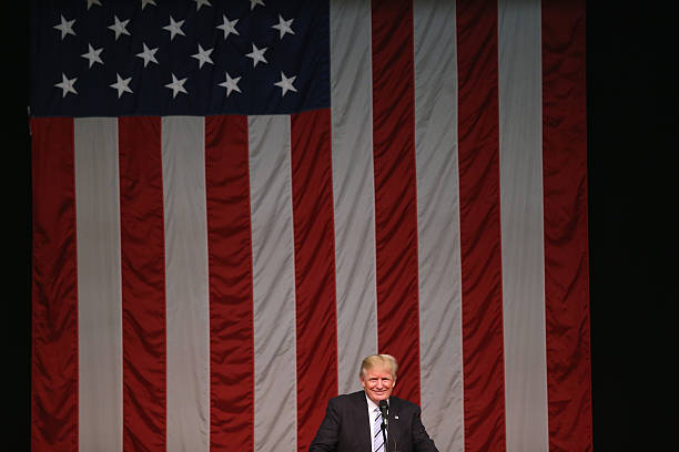 GOP Presidential Nomineee Donald Trump Holds Rally In Fairfield, Connecticut