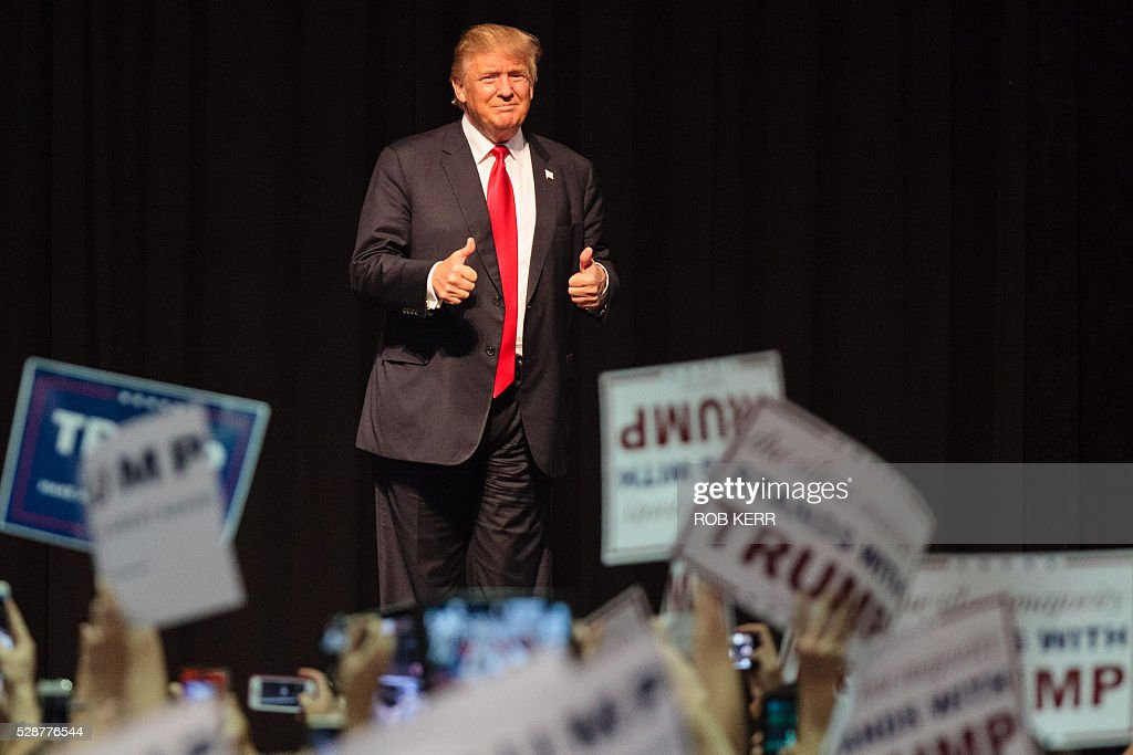 US-ELECTION-TRUMP : News Photo