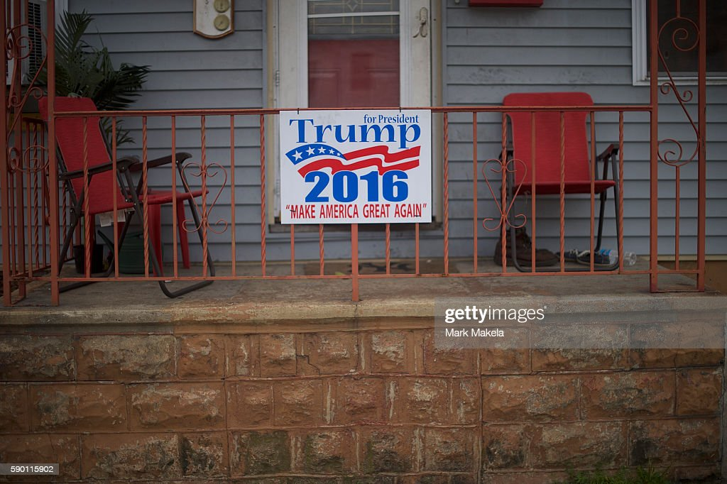 Pennsylvania's Rust Belt Region Could Be Pivotal In November's Presidential Election : News Photo