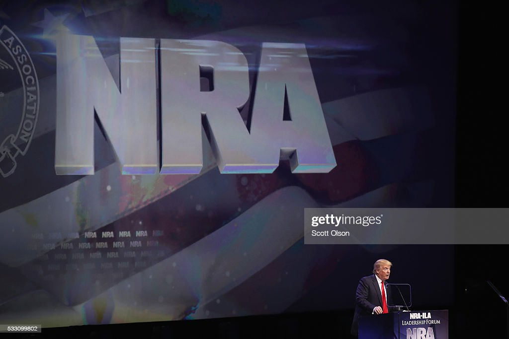 Top Political Leaders Attend NRA Annual Meeting In Louisville : News Photo